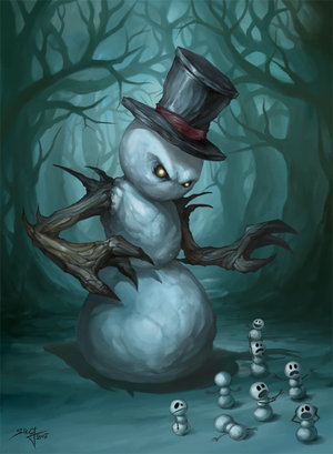 the_evil_snowman_by_beloved_creature